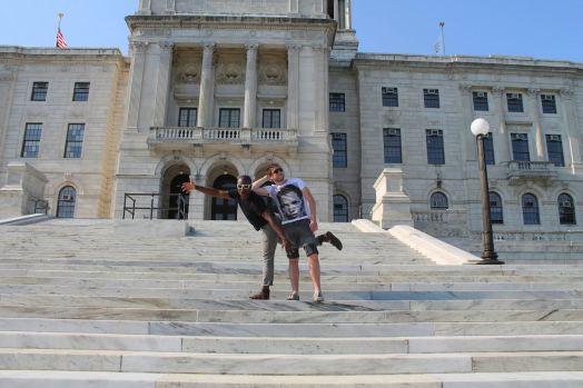 Gate-Crashing A Meeting In A Government State House… in Providence, Rhode Island, USA (13)