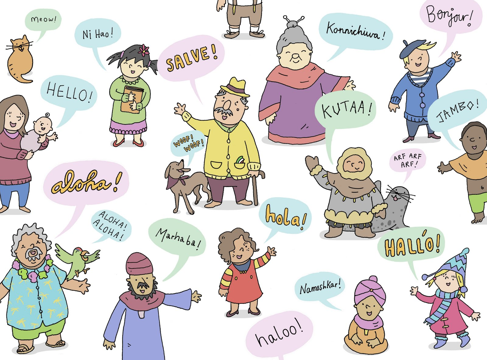 How To Say Hello In 40 European Languages