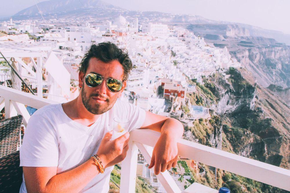 Conquering Volcanos in Santorini, Caldera, Sailing, Boat Trip, Greece (29)