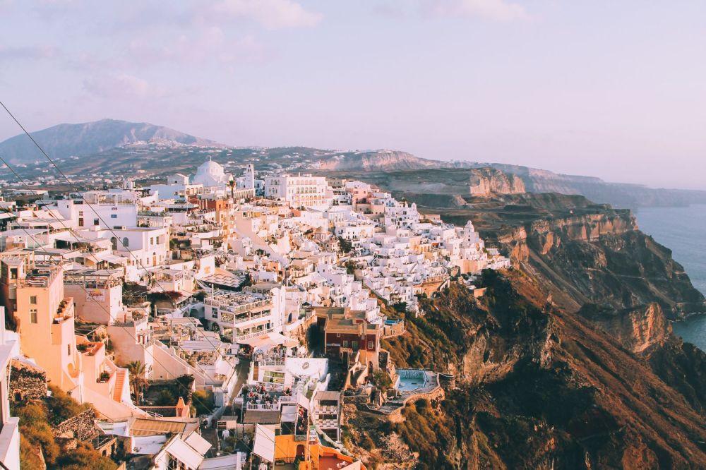 Conquering Volcanos in Santorini, Caldera, Sailing, Boat Trip, Greece (31)