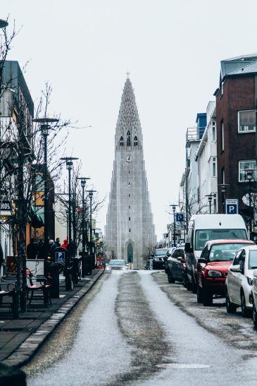 Afternoon in Reykjavik, Iceland Before Storm (10)