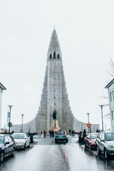 Afternoon in Reykjavik, Iceland Before Storm (11)