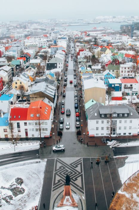 Afternoon in Reykjavik, Iceland Before Storm (15)