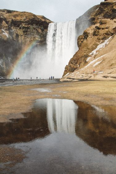 Seljalandsfoss and Skógafoss Waterfalls in Iceland plus Icelandic Lamb and rainbows (45)