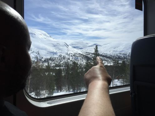 The Flamsbana Experience - Norway's Most Scenic Train Journey! (1)