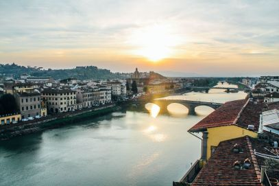 This Is The Best View In Florence, Italy! (1)