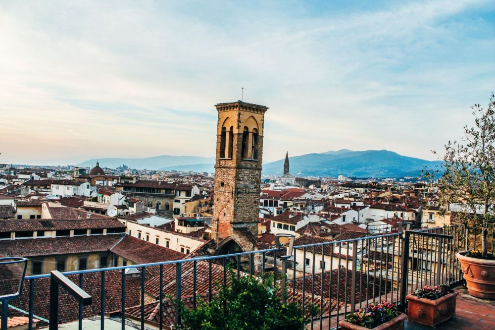 This Is The Best View In Florence, Italy! (5)