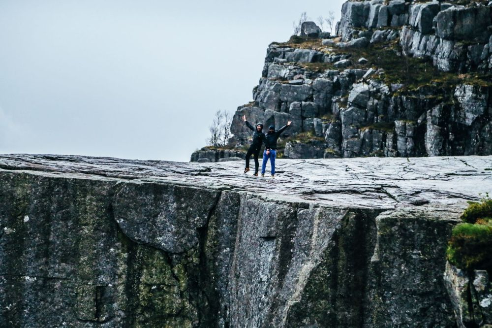How To See The Lysefjord AND Get To The Very Edge Of Pulpit Rock In Norway! (44)