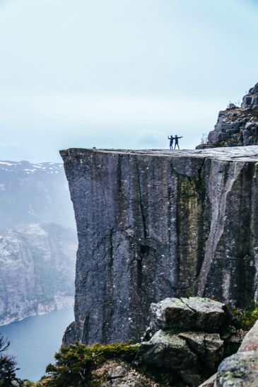 How To See The Lysefjord AND Get To The Very Edge Of Pulpit Rock In Norway! (47)