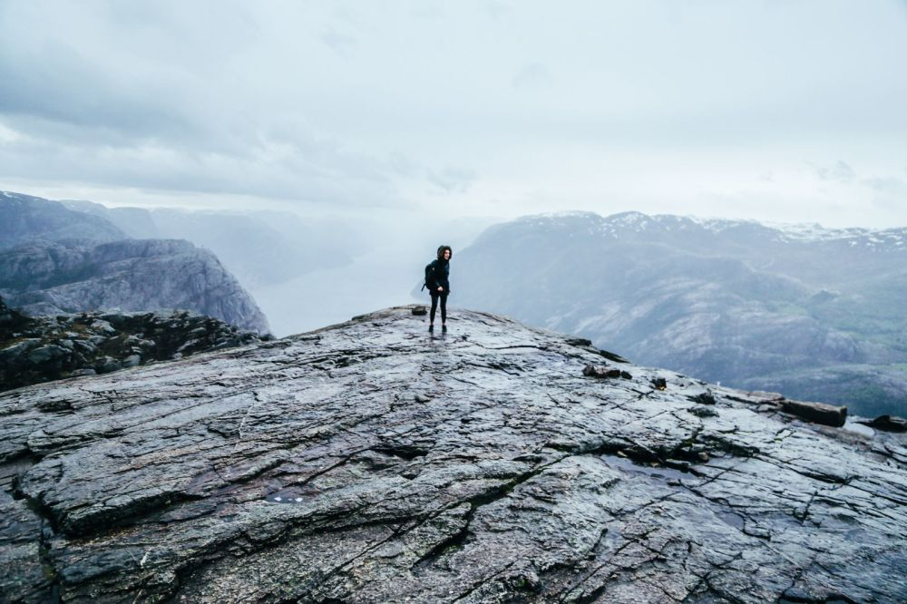 How To See The Lysefjord AND Get To The Very Edge Of Pulpit Rock In Norway! (51)