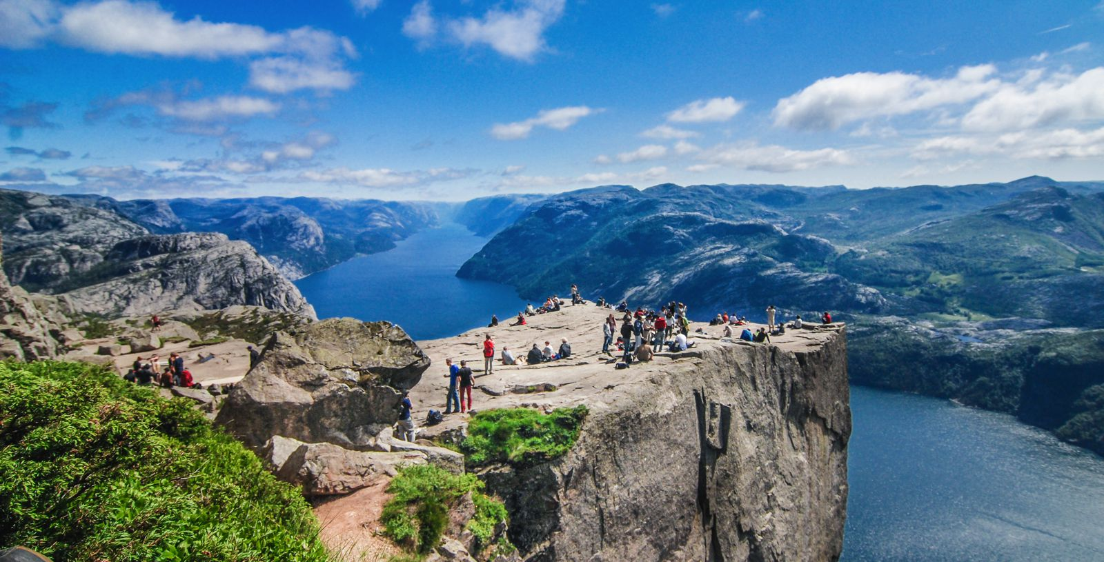 How To See The Lysefjord AND Get To The Very Edge Of Pulpit Rock In Norway!