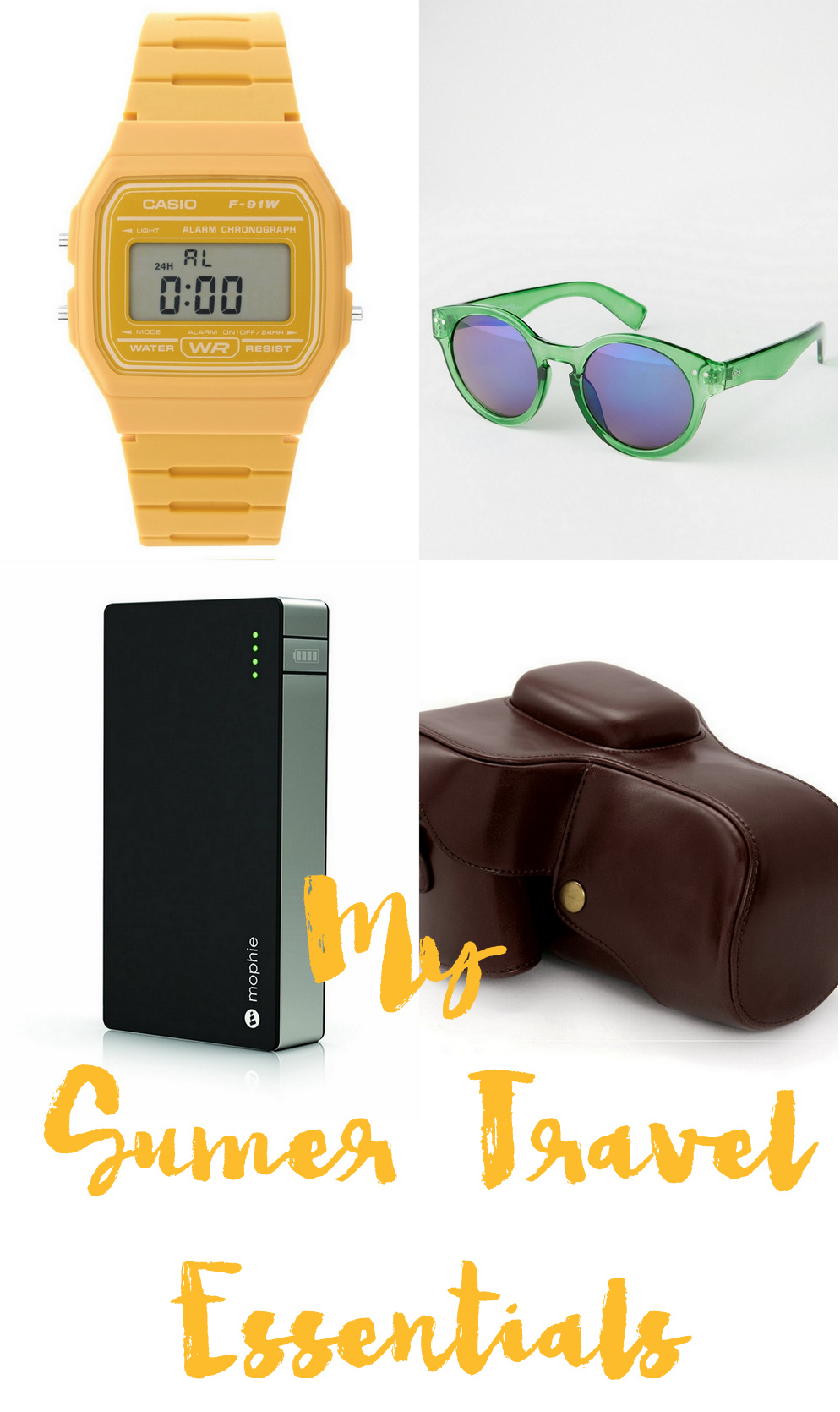 4 Travel Essentials This Summer!