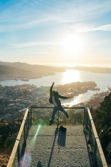 This Is The Best View In Bergen (And One Of The Best In The World)!!! Mount Fløyen and the Fløibanen funicular (13)