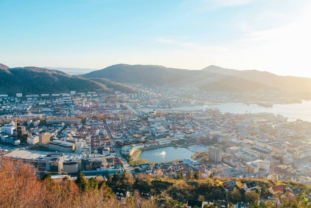 This Is The Best View In Bergen (And One Of The Best In The World)!!! Mount Fløyen and the Fløibanen funicular (11)