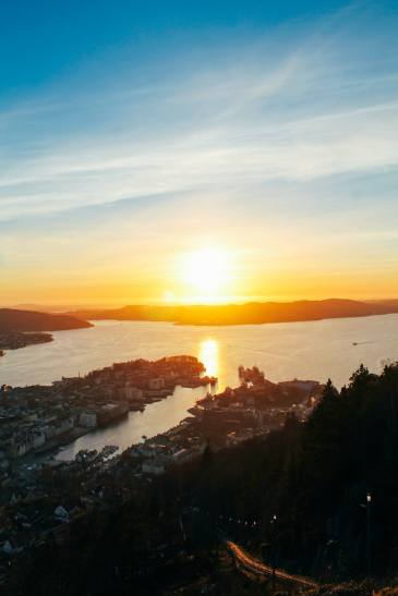 This Is The Best View In Bergen (And One Of The Best In The World)!!! Mount Fløyen and the Fløibanen funicular (23)
