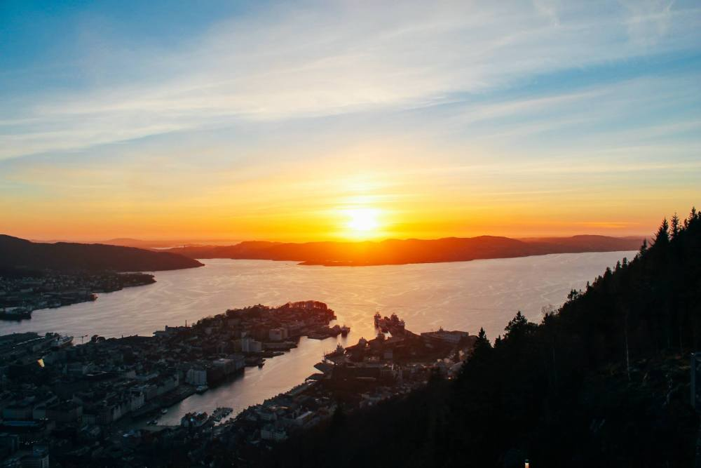 This Is The Best View In Bergen (And One Of The Best In The World)!!! Mount Fløyen and the Fløibanen funicular (26)