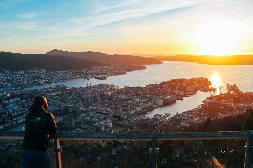 This Is The Best View In Bergen (And One Of The Best In The World)!!! Mount Fløyen and the Fløibanen funicular (24)