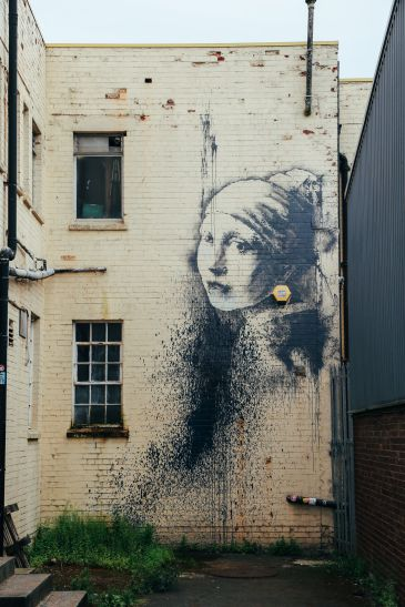 The Harbour Festival, Banksy, Steam Trains & The Girl With The Pierced Ear Drum... in Bristol, UK (7)