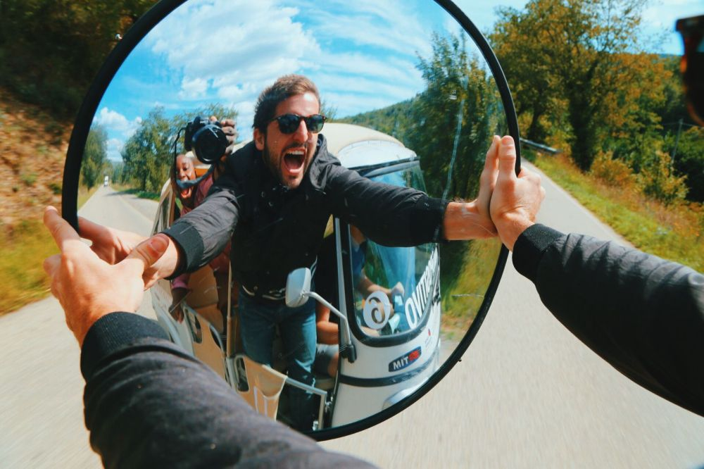 Driving Across Italy On A Rickshaw! Our Journey So Far... (15)