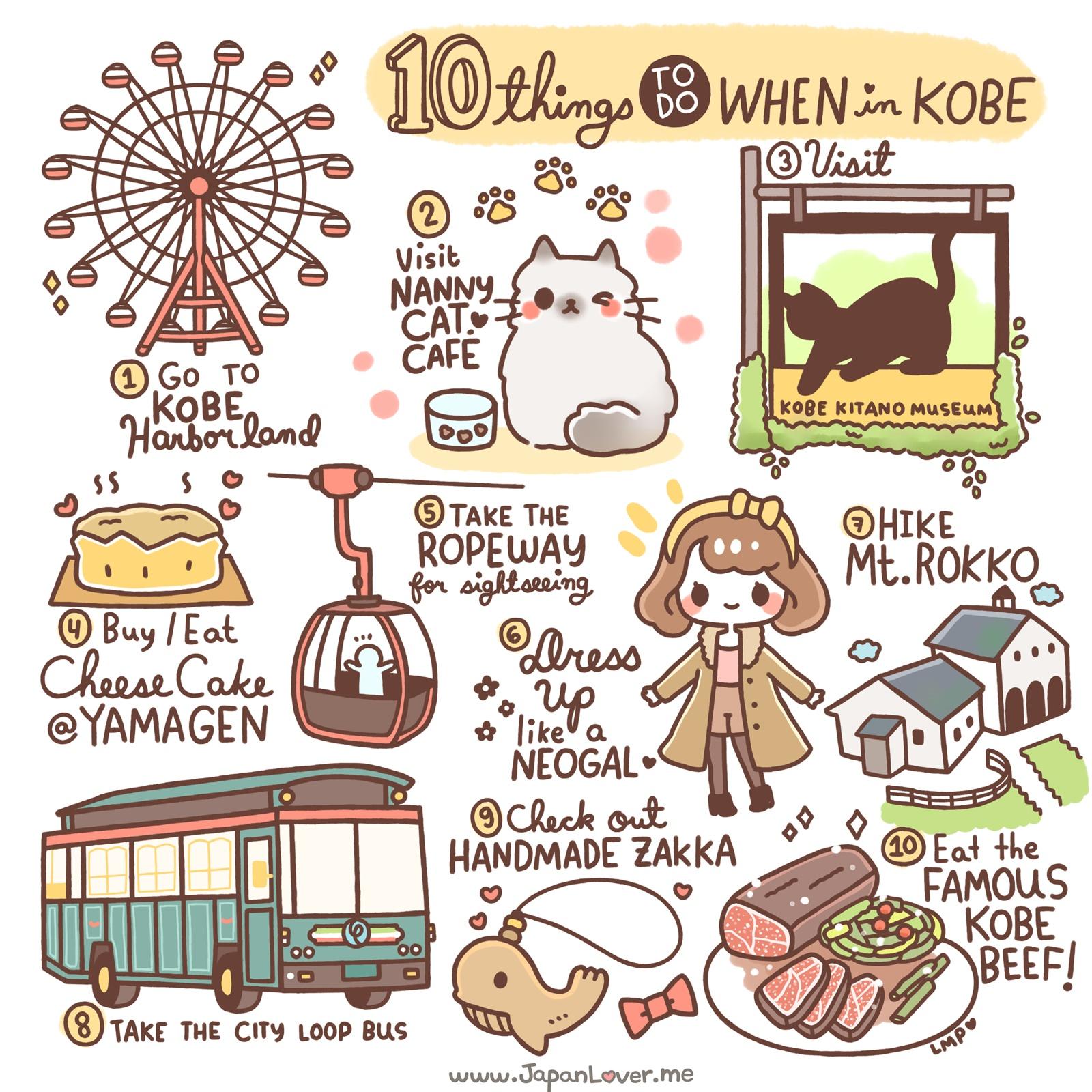 10 Things To Do In Kobe, Japan