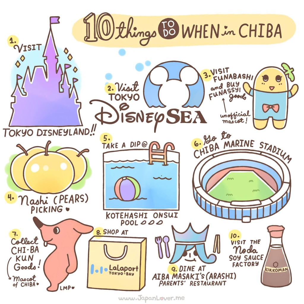 10 Things To Do In Chiba, Japan