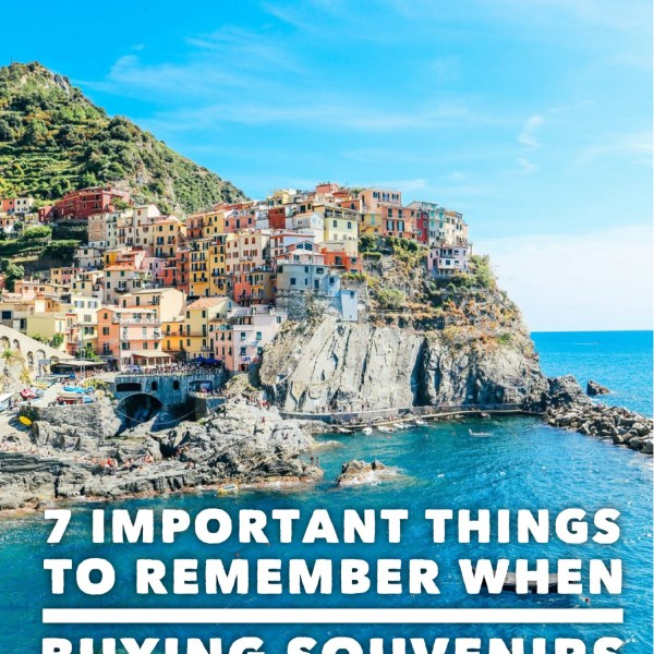 7 Important Things To Remember When You're Buying Souvenirs On Your Travels