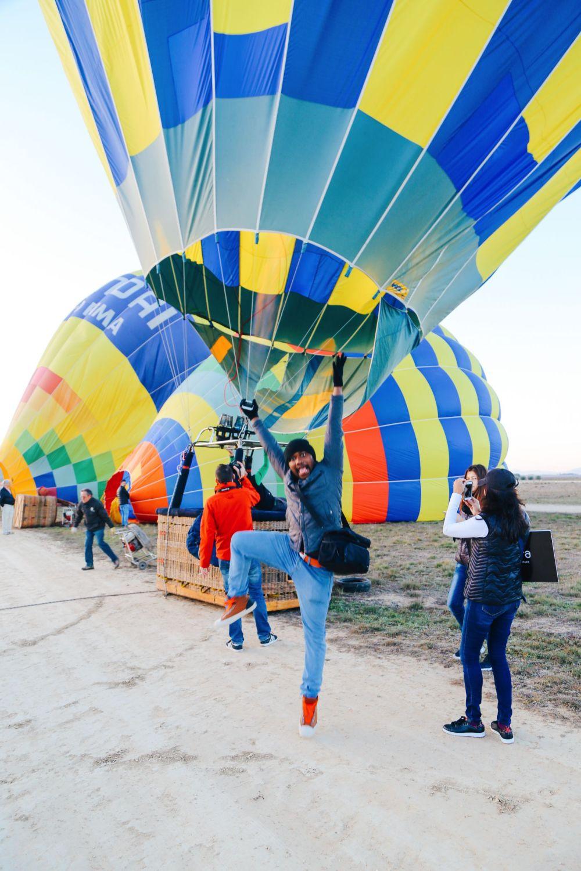 Hot Air Balloon Sunrise... In Sierra De Mariola, Valencia (8)