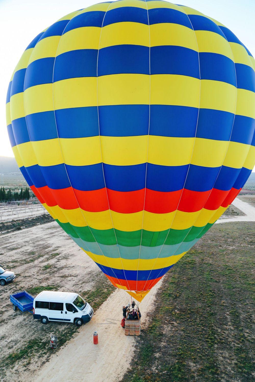 Hot Air Balloon Sunrise... In Sierra De Mariola, Valencia (11)