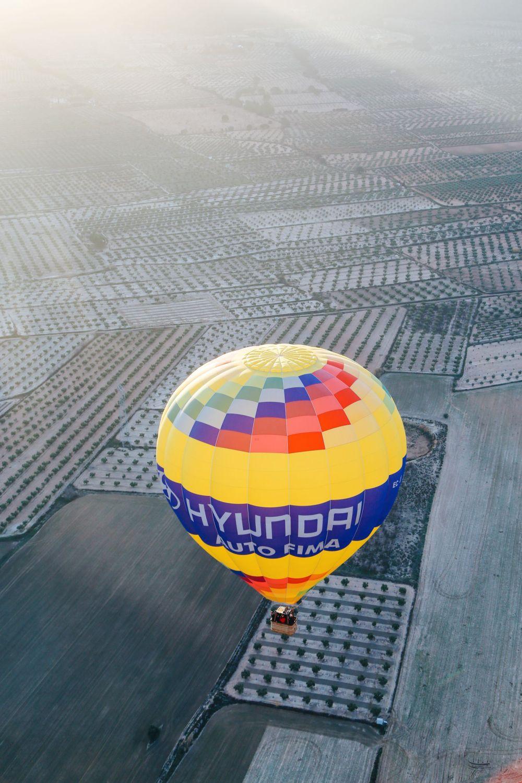 Hot Air Balloon Sunrise... In Sierra De Mariola, Valencia (16)