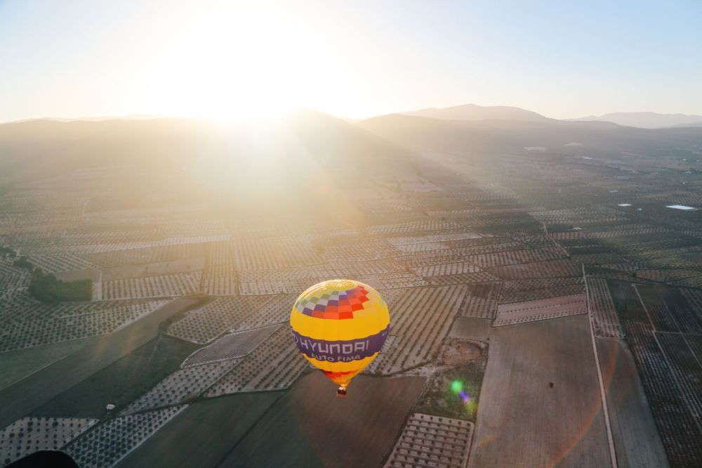Hot Air Balloon Sunrise... In Sierra De Mariola, Valencia (17)