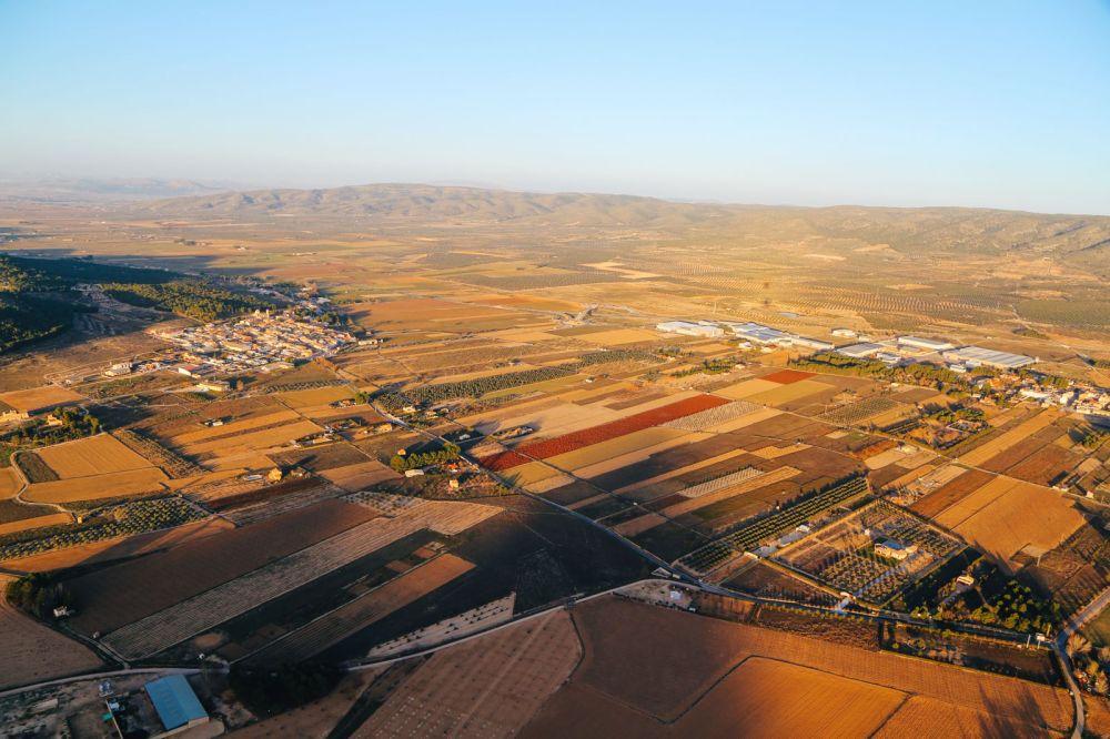 Hot Air Balloon Sunrise... In Sierra De Mariola, Valencia (19)