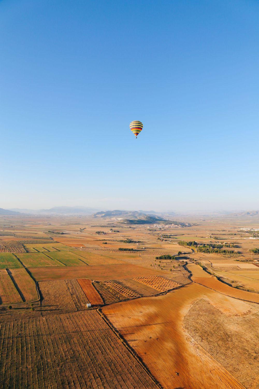 Hot Air Balloon Sunrise... In Sierra De Mariola, Valencia (37)