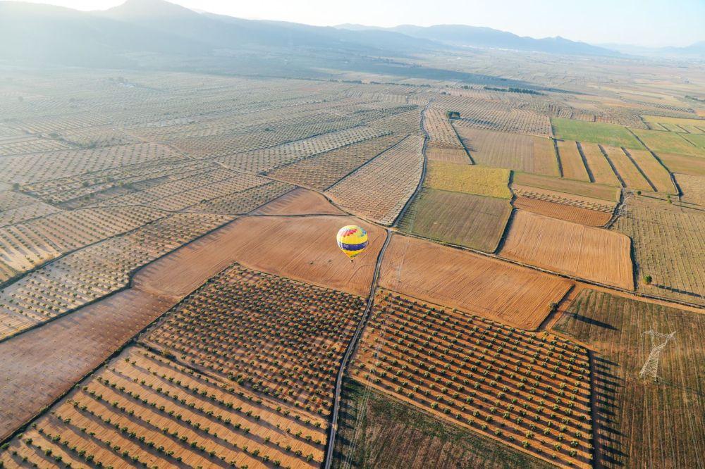 Hot Air Balloon Sunrise... In Sierra De Mariola, Valencia (38)