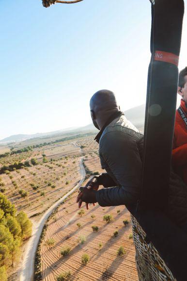 Hot Air Balloon Sunrise... In Sierra De Mariola, Valencia (44)