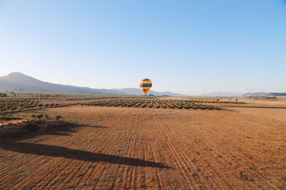 Hot Air Balloon Sunrise... In Sierra De Mariola, Valencia (45)