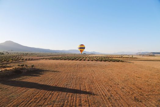 Hot Air Balloon Sunrise... In Sierra De Mariola, Valencia (45)
