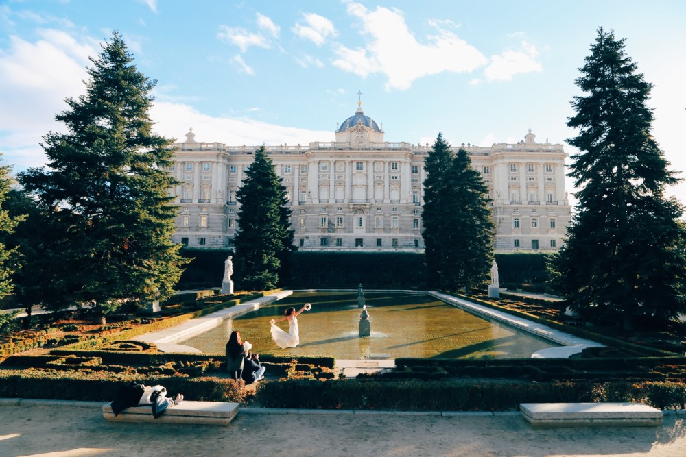 First Impressions Of Madrid, Spain