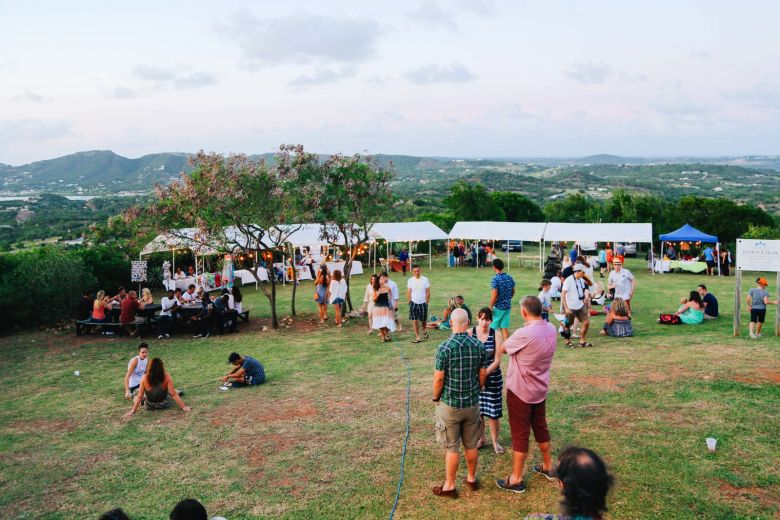 The Party (And Stunning Sunset) At Shirley Heights, Antigua (14)