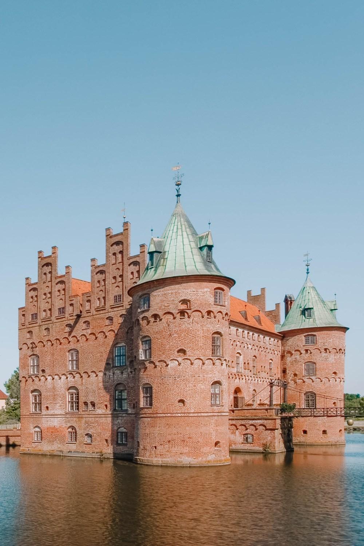 Замок Эгесков.Замки Дании.