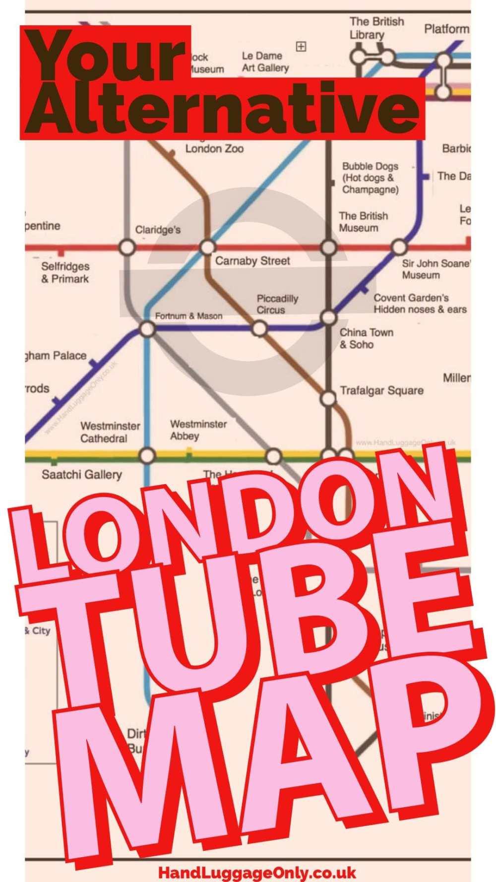 London Underground Map Tube