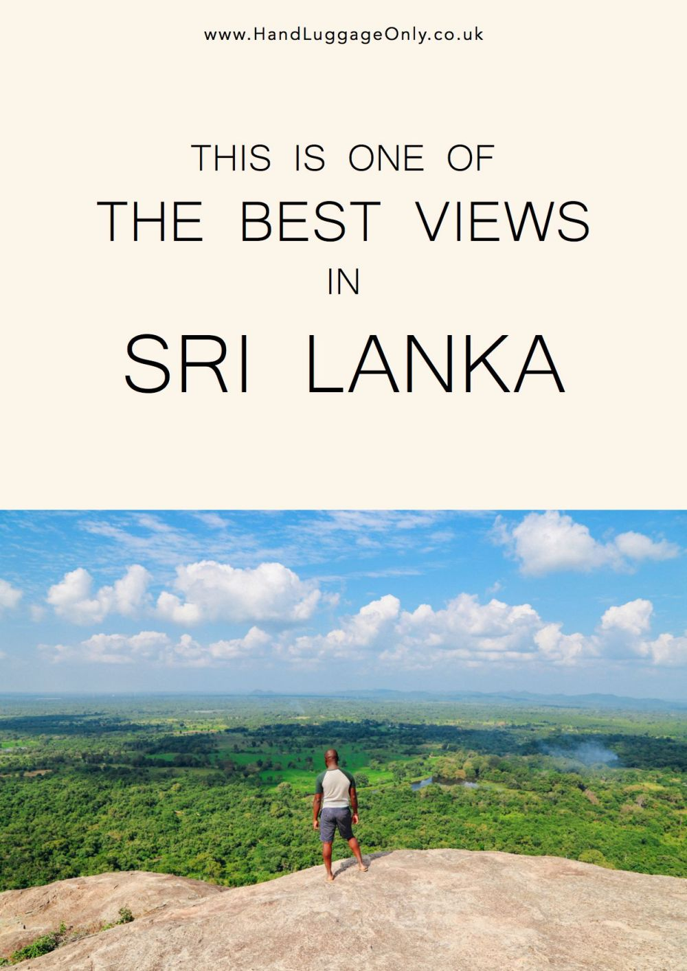 This Is One Of The Best Views In Sri Lanka - Pidurangala Rock (1)
