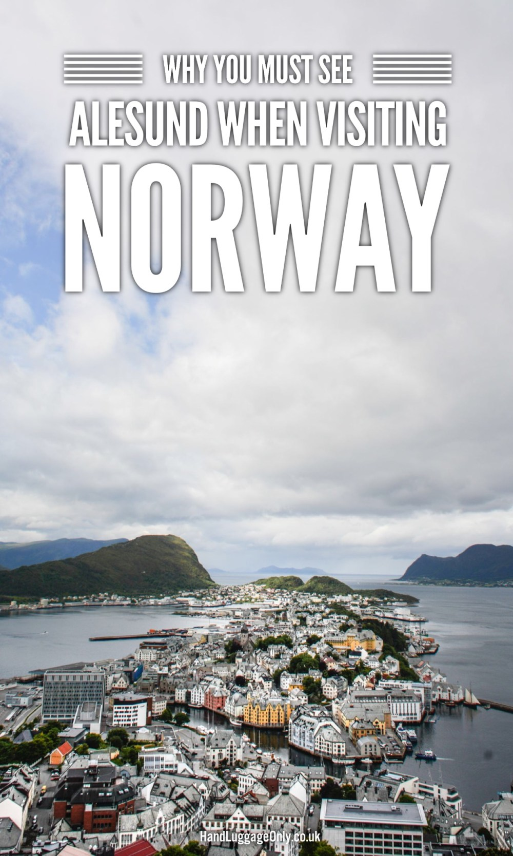 Towns in Norway to visit on west coast around fjords