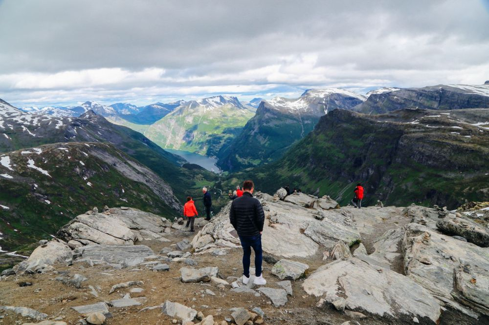 The Trek To The Highest Point In Geiranger, Dalsnibba...(And The Best View Of The Geirangerfjord) (30)