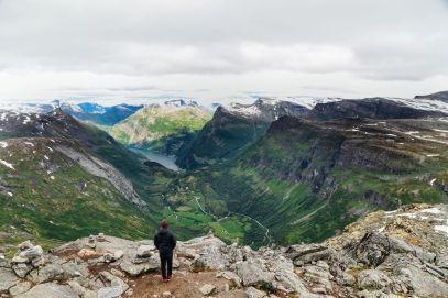 The Trek To The Highest Point In Geiranger, Dalsnibba...(And The Best View Of The Geirangerfjord) (35)