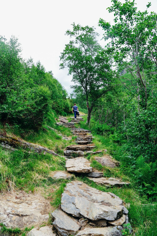 Exploring Storseterfossen Waterfall - A Waterfall In Norway You Can Walk Behind! (4)
