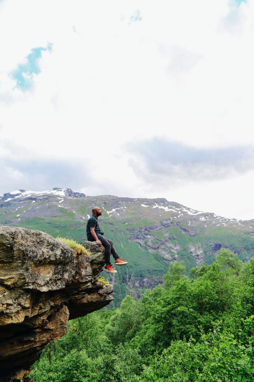 Exploring Storseterfossen Waterfall - A Waterfall In Norway You Can Walk Behind! (15)