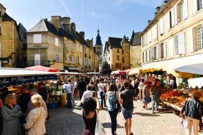 Mornings In The French City Of Sarlat And Afternoons In The Village Of Beaumont-du-Périgord... (19)