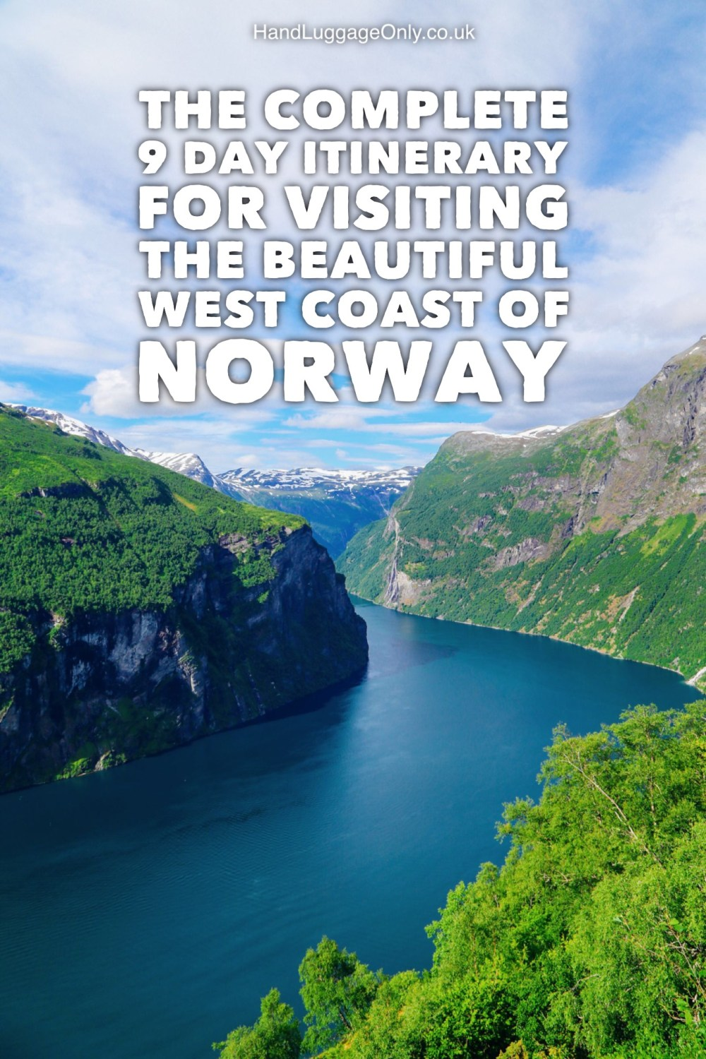 The Ultimate 9 Day Itinerary For Exploring Norway's Beautiful & Rugged West Coast