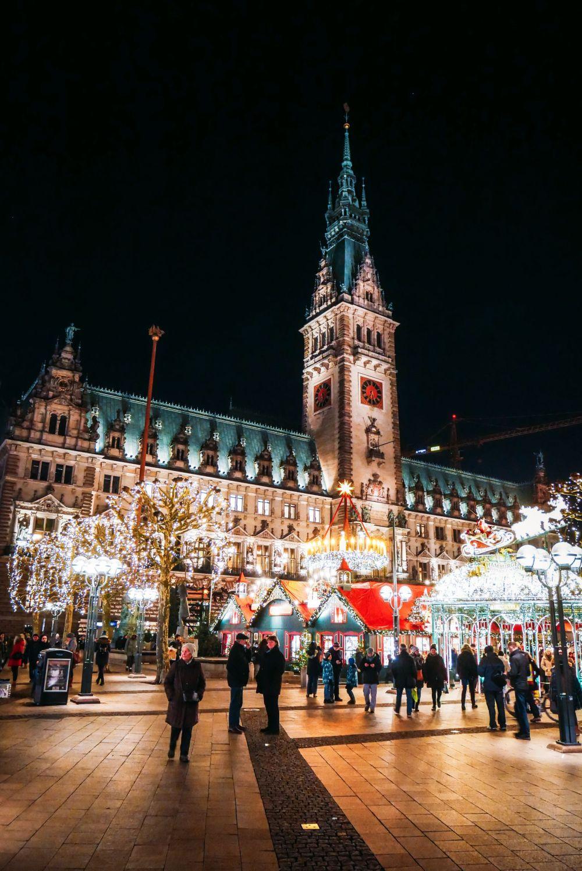 Christmas Market Fun In Hamburg, Germany… (1)