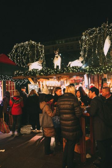 Christmas Market Fun In Hamburg, Germany… (11)